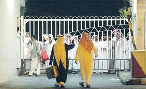 إطلاق نار على سجن القطيف وتعرض مواطنة وابنها لاصابات