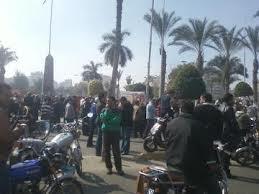 مشجعين كرة قدم مصريين يحاولون فرض عصيان مدني في بورسعيد