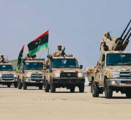 الجيش الليبي يمهل جماعات مسلحة 48 ساعة لإخلاء أماكنها