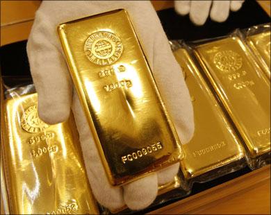 الذهب يتراجع 2 بالمئة دون مستوى عند 1600 دولار