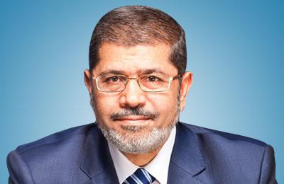 الرئيس محمد مرسى: يقول إن مصر تمضي للأمام
