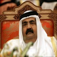 امير قطر يدعو إلى تدخل عسكري في سوريا