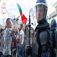 آلاف البرتغاليين يحتجون على التقشف