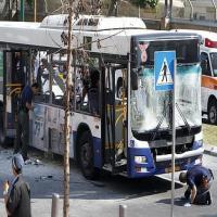 انفجار حافلة وسط تل أبيب